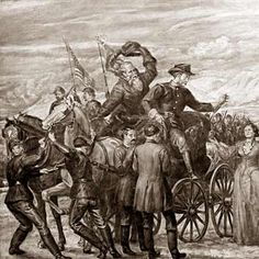 """Bear River Painting """"Returning from the Battle of Bear River"""" Notice how this painting calls it a """"battle"""" not a massacre and is glorifying the Anglo victory over the Shoshone."""