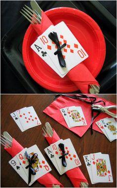 Acho esse tema muito original! E essa mesa ficou simplesmente maravilhosa!         Clique AQUI.     Para decorar as mesas dos convidados es...