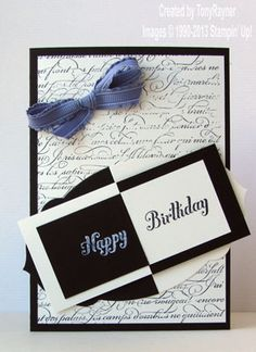 En francais birthday card - Stampin' Up!