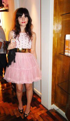 Betty Autier está empolgada com a moda no Brasil