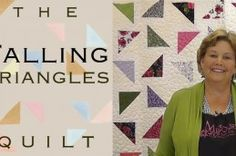 The Falling Triangles Quilt Tutorial