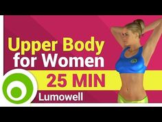 Upper-Body Workout for Women - YouTube