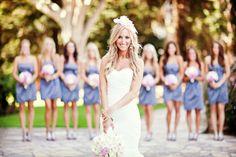 Ideas para las fotos de las damas de la boda #bodas #elblogdemaríajosé #fotosboda #ideasboda #damasboda #weddings