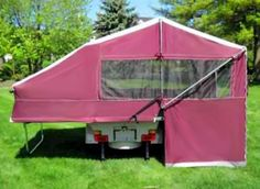 Bushtec Products' Bunkhouse camper trailers has introduced a new pop-up travel trailer Bunhhouse queen model
