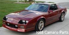 The sought-after 1988 Camaro was a 3rd Generation Camaro. Spanning from 1982-1992, 3rd Generation Camaros were equipped with factory fuel injection, four-cylinder engines, 16 inch wheels and hatchback body styles. The slightly smaller 3rd Gen Camaros were the first built without front subframes or leaf-spring rear suspensions.