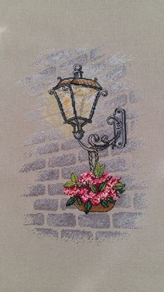 This Pin was discovered by Fra 123 Cross Stitch, Cross Stitch Needles, Cross Stitch Designs, Cross Stitch Patterns, Floral Embroidery Patterns, Hand Embroidery Patterns, Cross Stitching, Cross Stitch Embroidery, Ribbon Embroidery