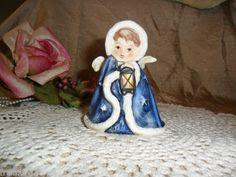 $29.99 obo + FREE SHPG!  HUMMEL GOEBEL ca 1959 W. Germany Figurine ANGEL GIRL WITH LANTERN!  Found on @eBay! http://r.ebay.com/92RHpL