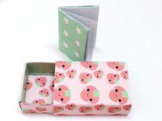 Mini scatolina fiammiferi minilibro bomboniere  di OkkinoShop su DaWanda.com