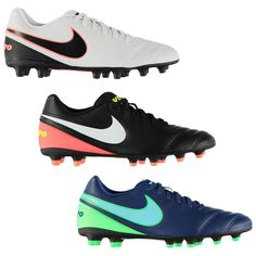 8300147a Advertisement(eBay) Nike Tiempo Rio FG Firm Ground Football Boots Mens  Soccer Shoes Cleats