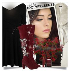 """""""#PolyPresents: Wish List"""" by beautifulplace ❤ liked on Polyvore featuring Sentaler, PB 0110, Balmain, Atelier Cologne, contestentry and polyPresents"""