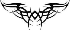 Large Back Tribal Tattoo