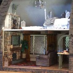 my sugarplum dollhouse cottage tour, crafts, home decor