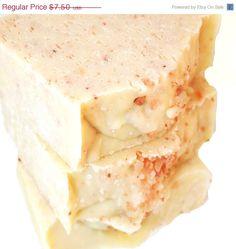 CIJ Sale 10% Himalayan Sea Salt Bar with Coconut Milk Handmade Vegan Artisan Cold Process Soap on Etsy, $6.75