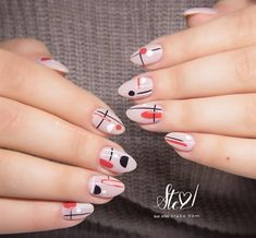 Nail art from the NAILS Magazine Nail Art Gallery, gel,