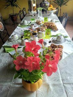 Colazione in verde  Bed and Breakfast Le Ginestre - #Sardegna #Sardinia #breakfast