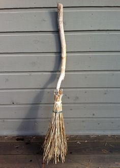 Homemade Witch Broom
