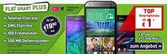Telekom Flat Smart Plus mit Smartphones ab 1€ http://www.simdealz.de/telekom/mobilcom-debitel-telekom-flat-smart-plus-mit-smartphone/