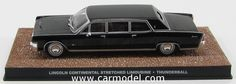 EDICOLA BONDCOL119 1/43 LINCOLN CONTINENTAL STRETCHED LIMOUSINE 1960 - 007 JAMES BOND - THUNDERBALL -Skala:: 1/43Zustand: MCode: BONDCOL119Farbe: BLACKMaterial: Die-Cast  Anmerkung: JAMES BOND 007 DIORAMA COLLECTION - TV SERIES
