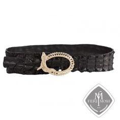 FERI MOSH Exotic - Philippa - Belt Exotic, Belt, Wallet, Luxury, Metal, Leather, Accessories, Design, Belts