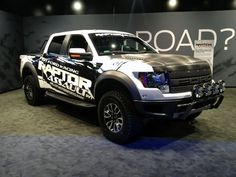 Ford Raptor... i WOULD SAY SKIP THE RING AND PROPOSE TO ME WITH THIS IF YOU WANT A YES!! HAHA