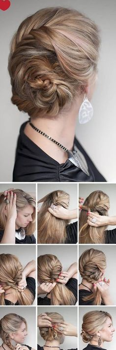 I would have to use way to many Bobby pins for this to be comfortable but it's pretty.