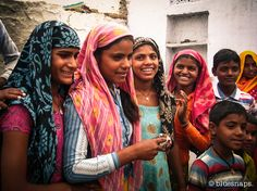 Young #indian #girls in #Abhaneri, #India.