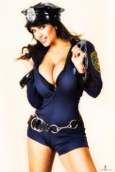 CLAUDETTE: Big boob police women