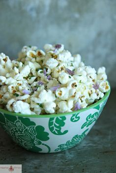 Chive Blossom Popcorn by Heather Christo, via Flickr