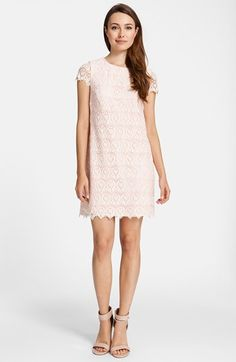 Cynthia Steffe Lace Shift Dress available at #Nordstrom for Annie maybe?