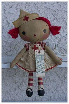 *RAGGEDY ANN ~ Lil Girl Nurse