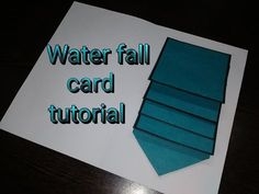 [Tutorial + Template] Quick And Easy Waterfall Card - YouTube