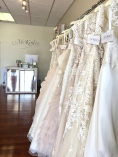 Kenneth Winston gowns are ready to make bridal dreams come true. Visit our brand new bridal boutique in the North Texas area! We are an upscale bridal boutique that celebrates every brides style and size! Book today! https://www.mckinleybridal.com