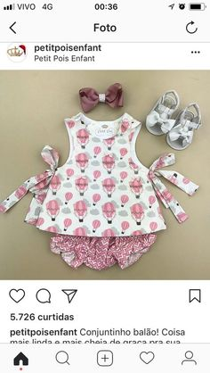 New dress pattern baby moda Ideas Baby Girl Romper, Little Girl Dresses, Sewing For Kids, Baby Sewing, Baby Outfits, Kids Outfits, Ruffle Diaper Covers, Baby Dress Patterns, Frocks For Girls