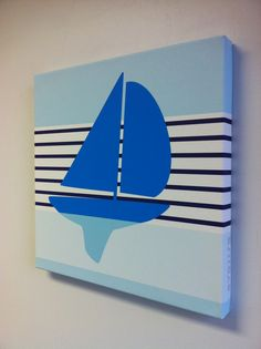 Sailboat - easy painting activity!