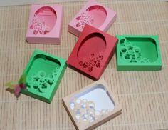 Seifen-Box, Schachtel, Box, soap, Silhouette, Cameo