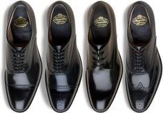 SHOE PORN: four models of Churchs Shoes