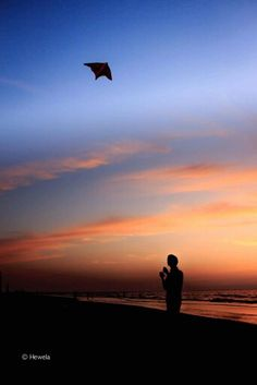 A Kite! By the sea - Hewela Photography عدسة دمياط