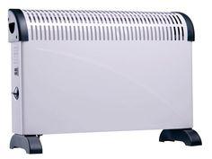 Convectieverwarming Met 3 verwarmingsstanden.  Krachtig en stil verwarmingsapparaat. Met standvoeten.  Zorgt voor een snelle, behaaglijke warmte.   ConvectieverwarmingLichtgewicht, dus makkelijk te verplaatsen.  Incl. montage-materiaal. Convectieverwarming