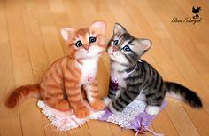 two kittens by KittenBlackUA.deviantart.com on @DeviantArt