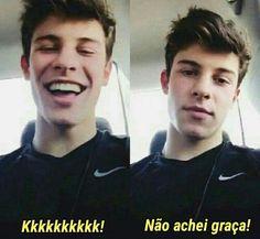 Adoro memes do Shawn! Shawn Mendes Memes, Shawn Mendes Concert, Shawn Mendes Cute, Shawn Mendes Imagines, Bad Humor, Memes Humor, Meme Faces, Funny Faces, Sao Memes