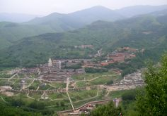 Wu Tai Shan, the abode of Manjushri (from All About Manjushri | 关于文殊菩萨)