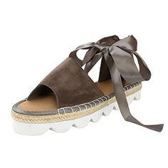 LUCKYCAT Prime Day Amazon, Sandales d été Femme Chaussures de Été Sandales  à Talons 4cb0a758710d
