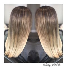 Downtown Campbell: Spring is around the corner  || foil-layage ombré || #ombre #balayage #daisy_embelish #embelishlounge #embelishhairlounge #foils #dialight #lorealprous #randco #lorealpro #hairstylist #hairsalon #sanjose #sanjosehairstylist #downtowncampbell #campbell by daisy_embelish