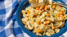 Lemon Dilly Pasta Salad Replace balsamic vin with ACVinegar, no cheese and gluten free noodles. Dill Dip Recipes, Epicure Recipes, Pasta Recipes, Cooking Recipes, Healthy Recipes, Healthy Meals, Quick Dinner Recipes, Side Dish Recipes, Fall Recipes