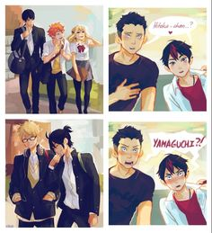 First  years as third years - haikyuu!