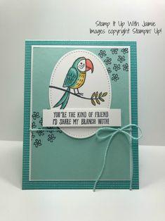 Stampin' Up! Bird Banter Card – Stamp It Up with Jaimie