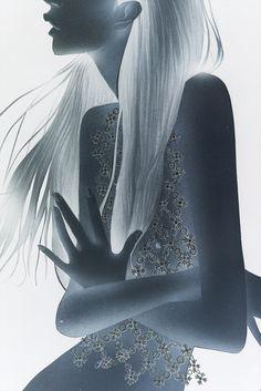 Masaki Mizuno #fashion #illustration