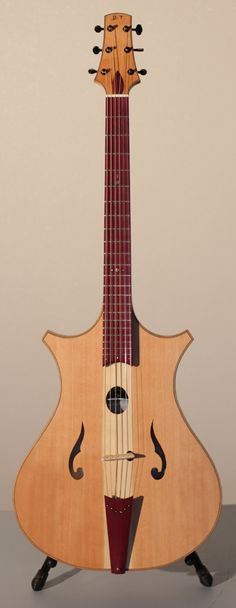 Philippe Berne Jo-Guitar - a banjo contained inside a guitar