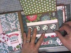 We are Family Mini Album - no instructions on how to make the album, but great ideas on pull outs and pockets and flip-ups, etc.