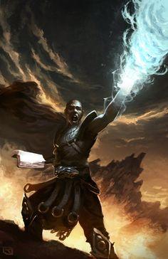 The Prophet's Rage by Rob-Joseph | Digital Art / Drawings & Paintings / Fantasy | Character Mage sorceror spellbook